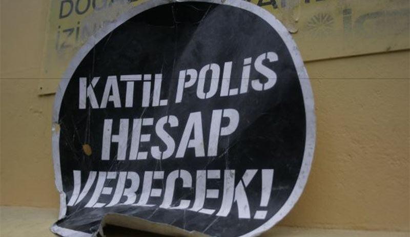 """AYM'den """"Katil Polis Hesap Verecek"""" Sloganı Kararı"""